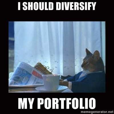 cat should diversify portfolio