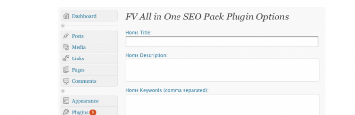 FV All in One SEO Pack