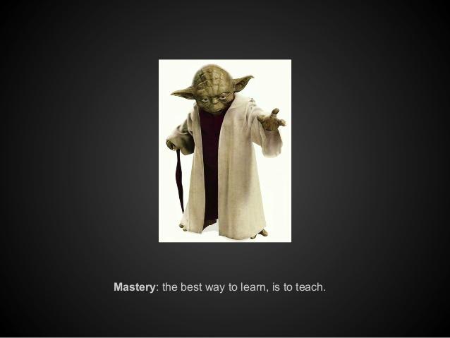 learn like yoda