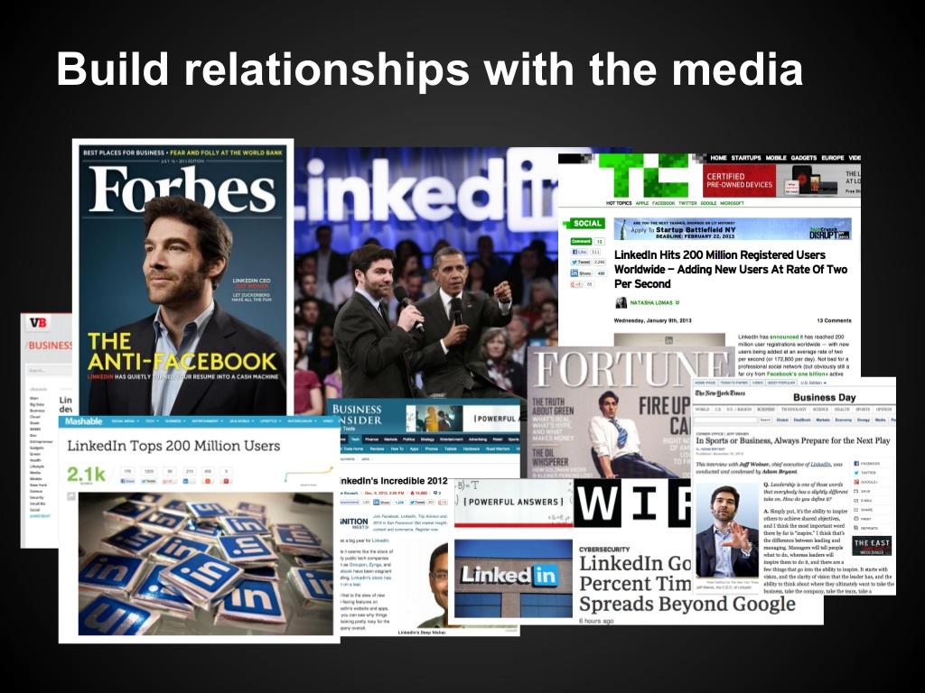 media relationships