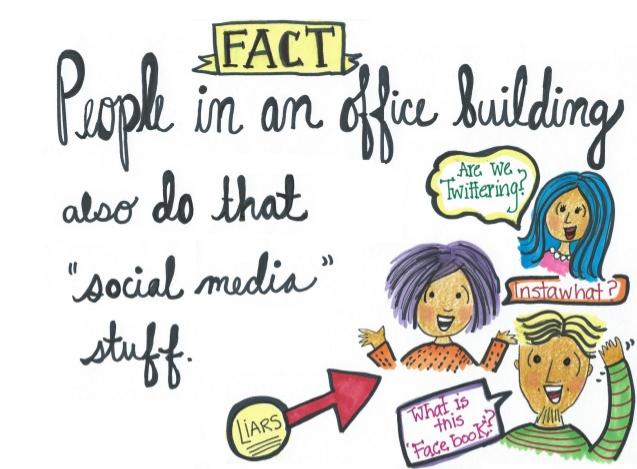 office social media