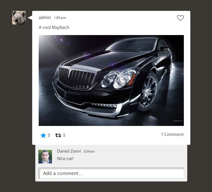 dashburst screenshot