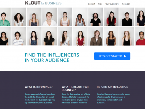 Klout Business