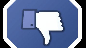 facebook stop sign