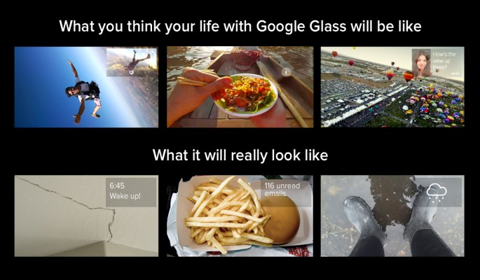 google glass reality