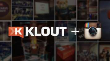 klout plus instagram