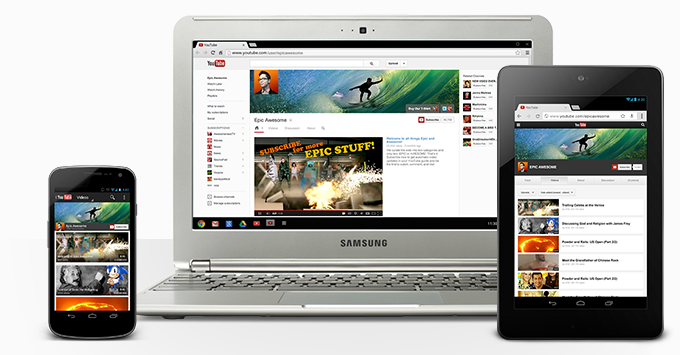youtube one devices