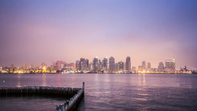 San Diego time-lapse