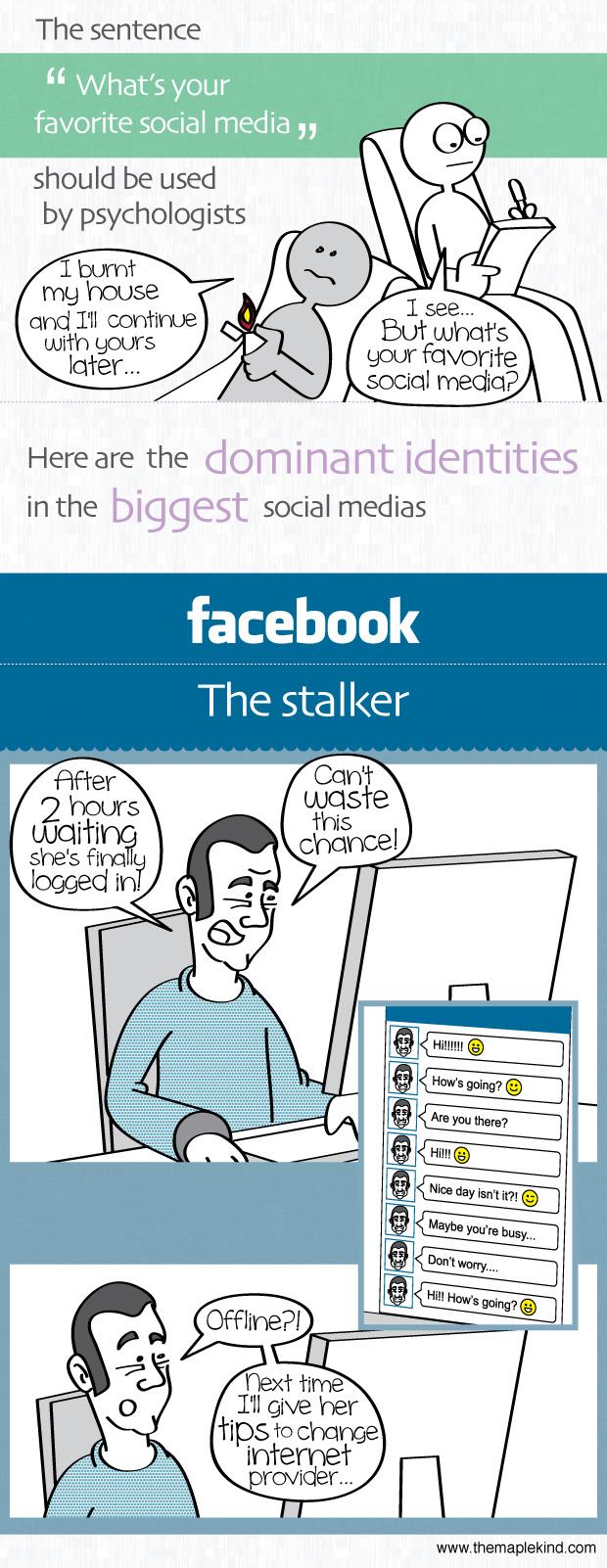 facebook - the stalker
