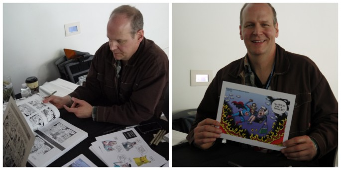 Rob Rogers political cartoonist