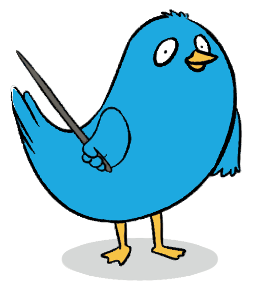 Blue-Bird-Pointing-Left