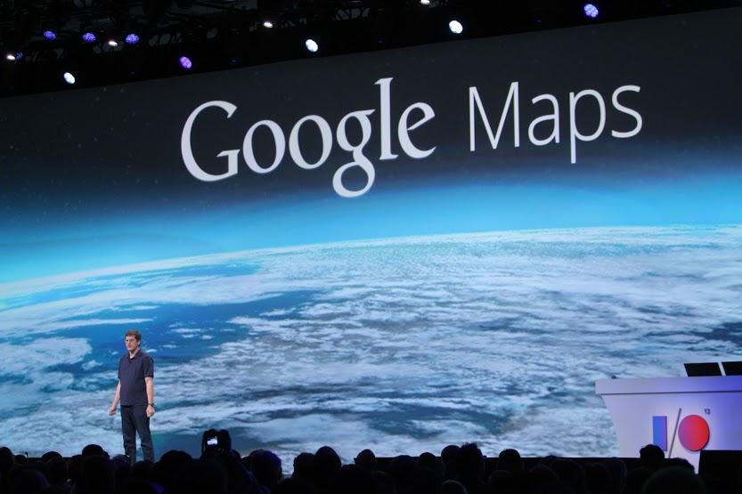 Google Maps Presentation at I/O