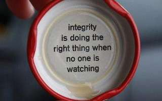 Integrity Just Because