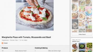 Pinterest Recipe Screenshot