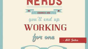 be nice to nerds
