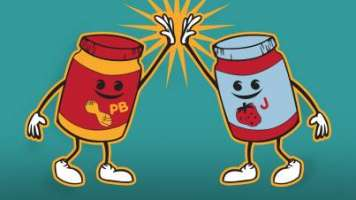 Peanut Butter & Jelly Just like Seamless and GrubHub
