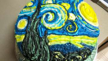 slice of starry night