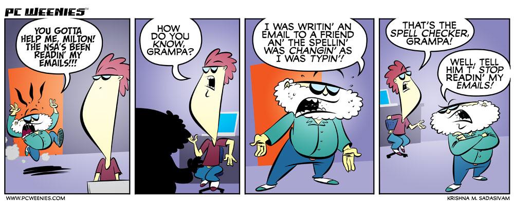 nsa vs spell checker