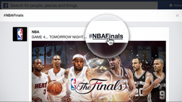Preview Facebook Hashtags: #NBAFinals