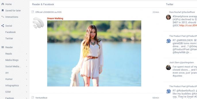 FlowReader screenshot web