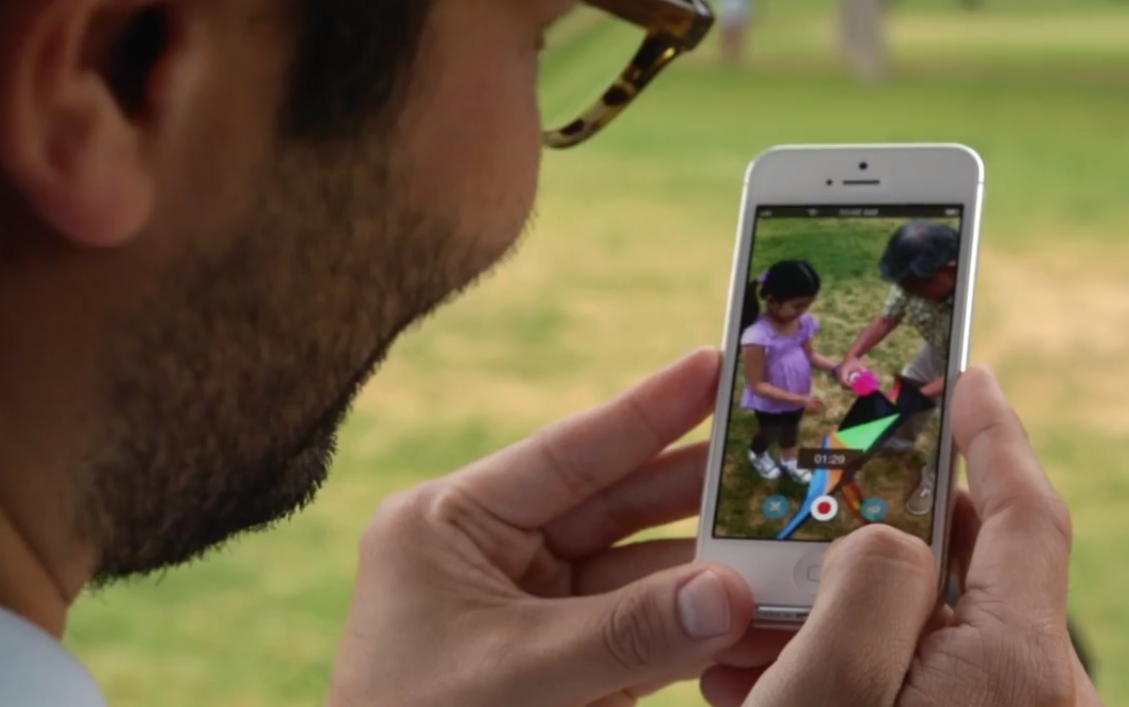 Screenshot of Skype's Video Messaging video