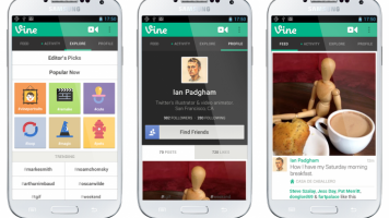 Vine for Android screenshots