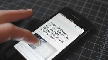 Screenshot of Digg Reader on Android