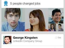 LinkedIn app for iPhone