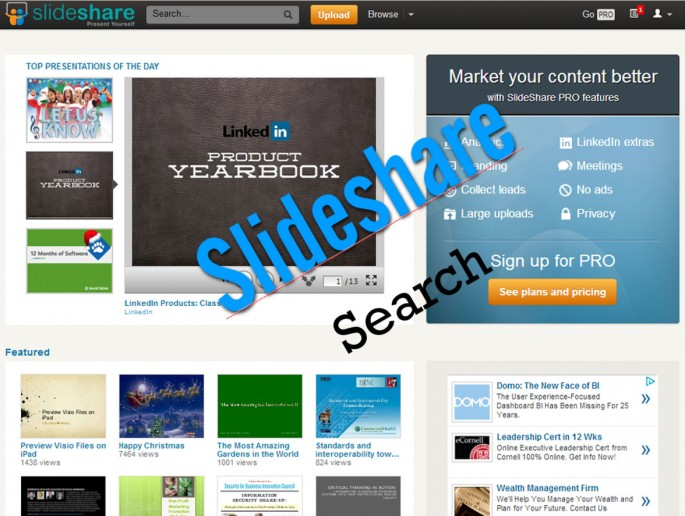 slideshare search