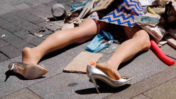 Yolanda Dominguez Fashion Victims Close-up Shot