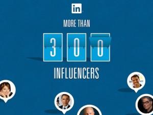 LinkedIn influencers infographic crop