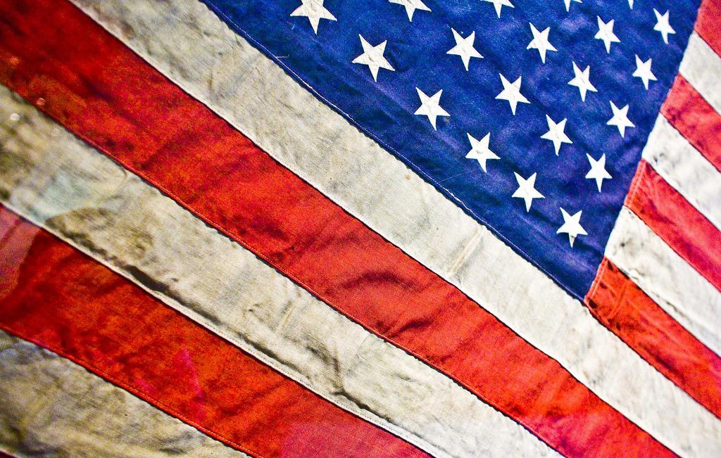 Old Glory American Flag by Thomas Hawk