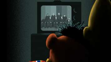 The New Yorker cover features Bert and Ernie cuddling