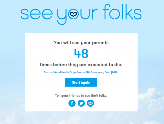 Screenshot of See Your Folks