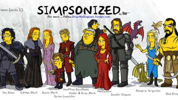 game of thrones simsponized