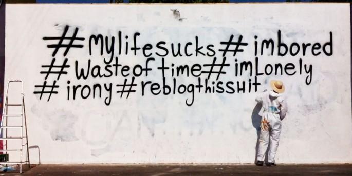 negative hashtags