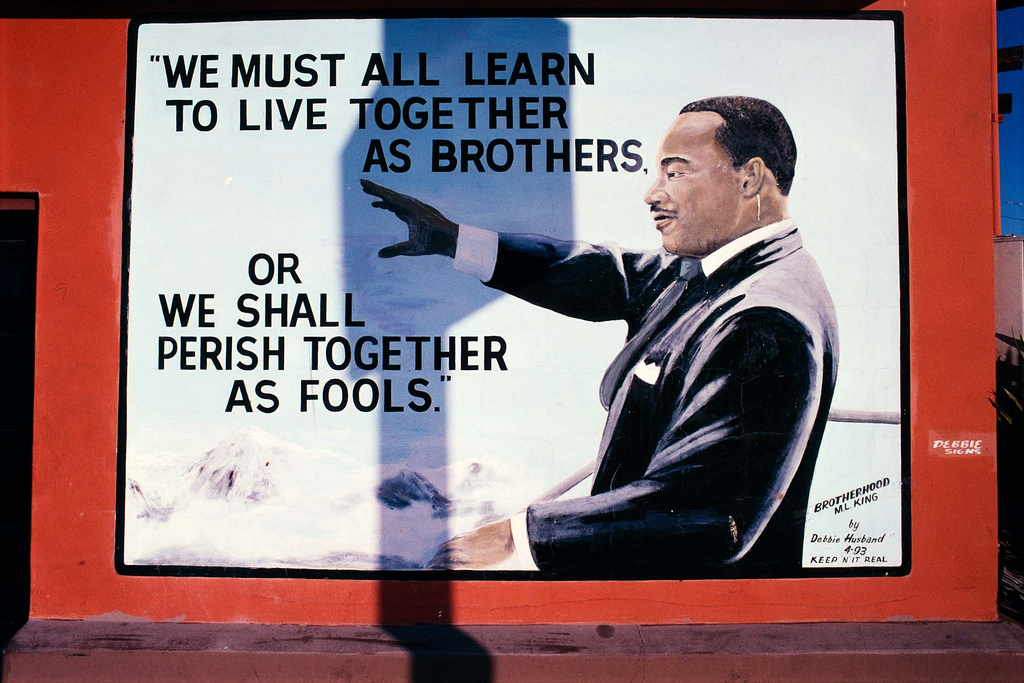 learn to live together as brothers
