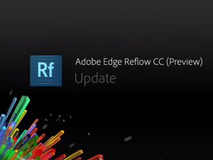 Adobe Edge Flow CC update