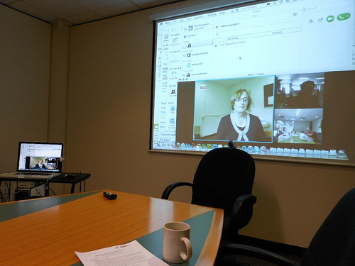 attend meetings remotely
