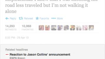 Jason Collins tweet