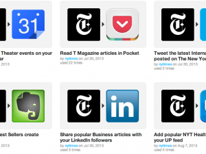 new york times channel on ifttt