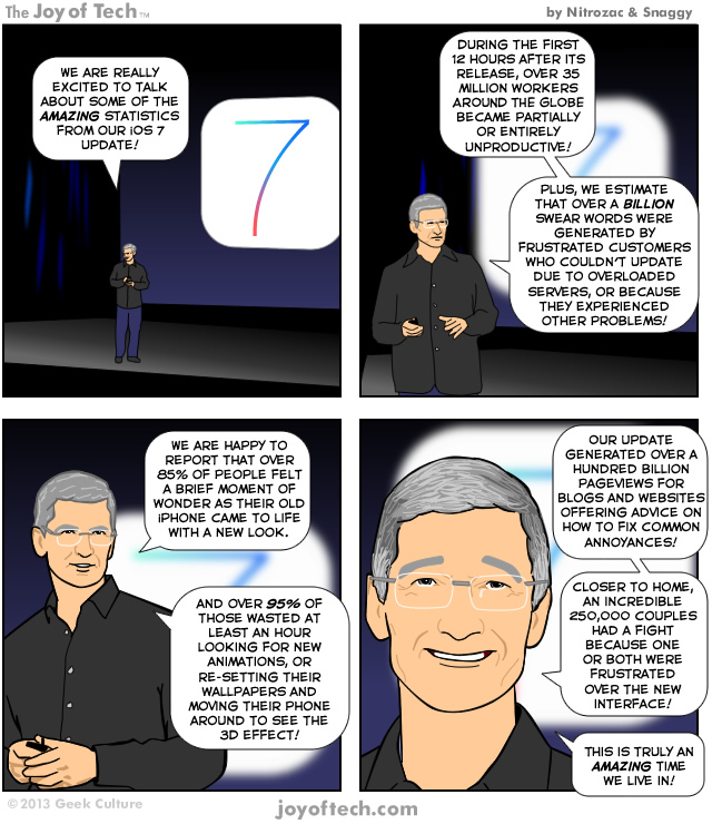 iOS 7 Stats