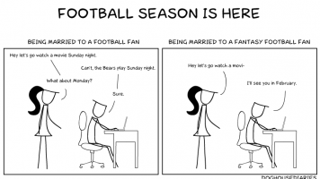 Football vs. Fantasy Football