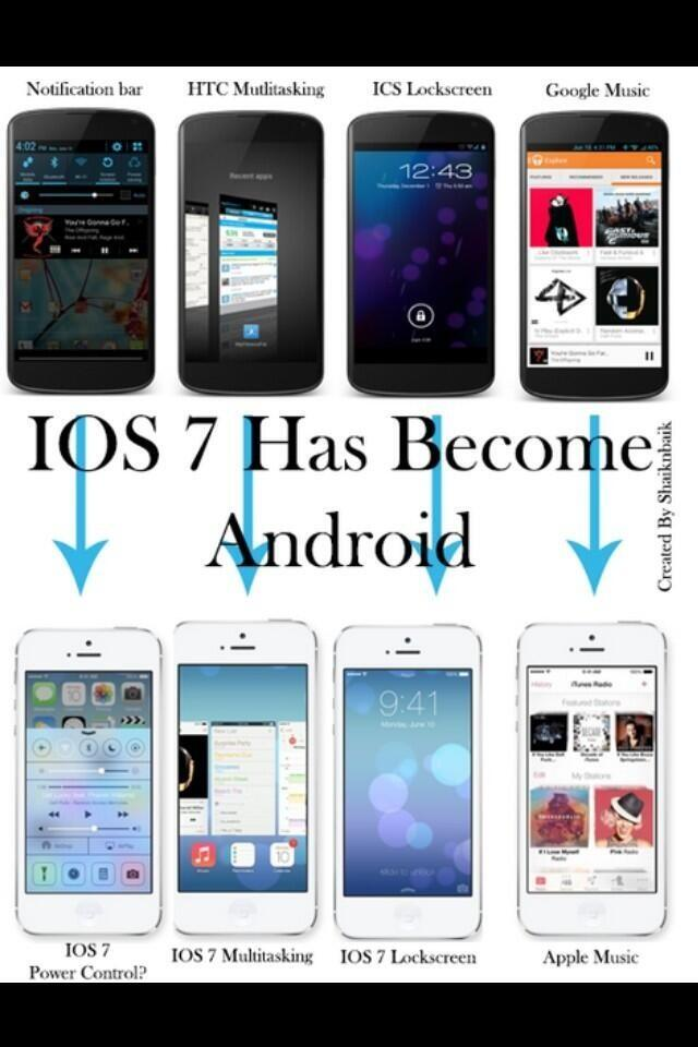 iOS7 the new Android