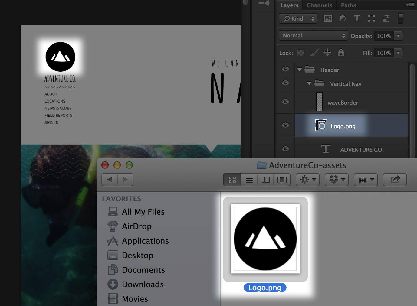 Screenshot of Adobe Generator