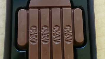 Android chocolate kit kat bar