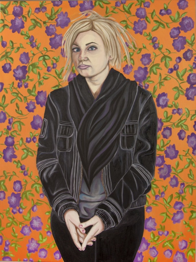 Self portrait as Andy Warhol