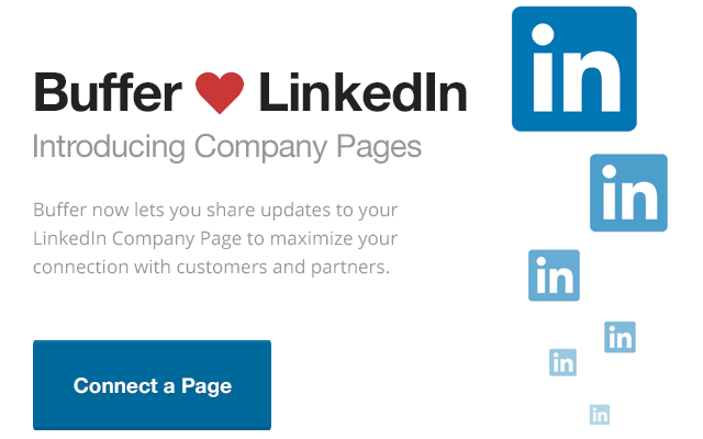 Buffer adds support for posting to LinkedIn company pages