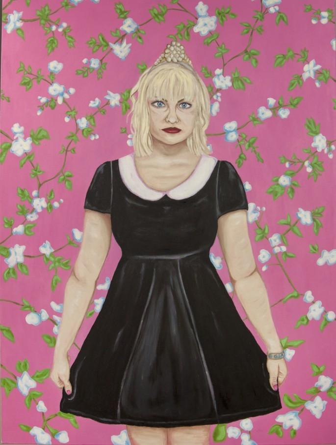Self portrait as Courtney Love