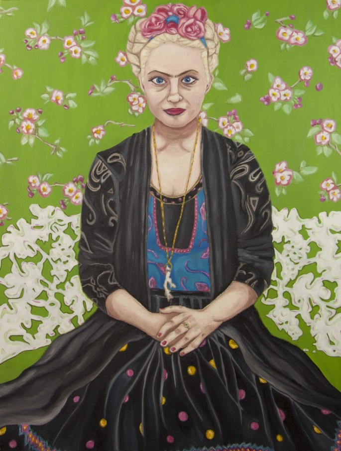 Self portrait as Frida Kahlo